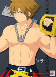 MuscleUp - Sora by zephleit