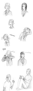 Dalek Sec doodles 1 by LittleSnaketail