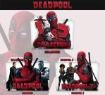 Deadpool 2016 - 2018 Folder Icon by sonerbyzt