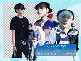 Pack PNG #85 - BTS |02| by YuriBlack
