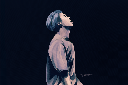 Namjoon's birthday by ArtOfAyanami