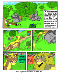Chap 1 The Founding  Of The Tree Circle Land pg 1 by CatDasher