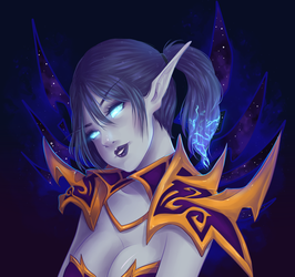 Void elf by binnybun
