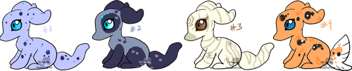 Cheap Paselchi Adopts - OPEN - 50 points each by JB-Pawstep