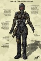 Shock Corps Legionary by lysandyr87