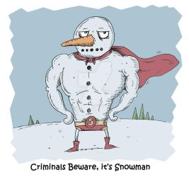 Its Snowman 2011 by stuartmcghee