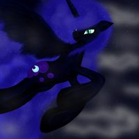 Nightmare Moon by EarthEquine