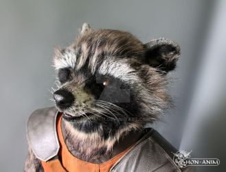 Rocket Raccoon, from Quardians of the Galaxy by hon-anim