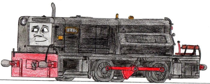 Fred the Little Maintenance Diesel by 01Salty