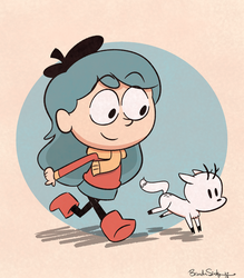 Hilda by rachetcartoons