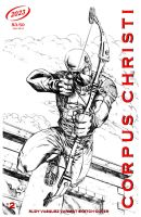 Corpus Christi Sketch Cover Issue 2 by RudyVasquez