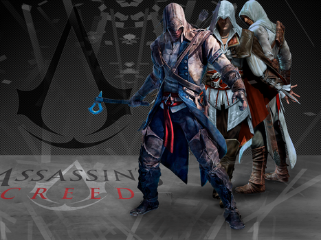 Wallpaper de Assassin's Creed by andrbr