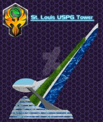 FranXX: St. Louis USPG Tower by Xelku9