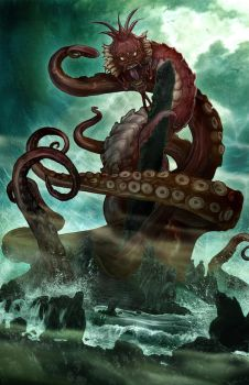H.P. Lovecraft's DAGON by wjh3