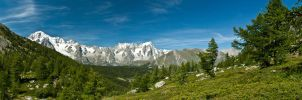 Mont Blanc by xisidoro