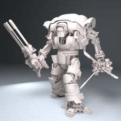Warhammer 40K, Imperial Knight inspired walker. by ChristianKarling