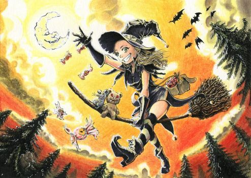 Lil Witch Maggie by Didip