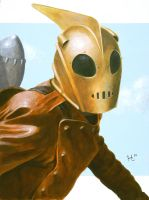 The Rocketeer by jeh-artist