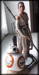 Rey and BB-8 by HarryWatson