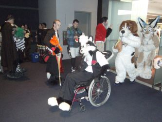 AnthroCon - Fursuit Parade 1 by Milkb0ne