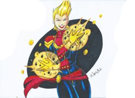 Captain Marvel Scan by MikeES