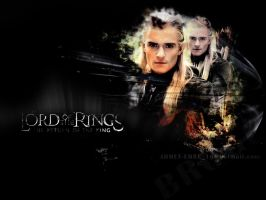 lord of the rings by ahmetbroge