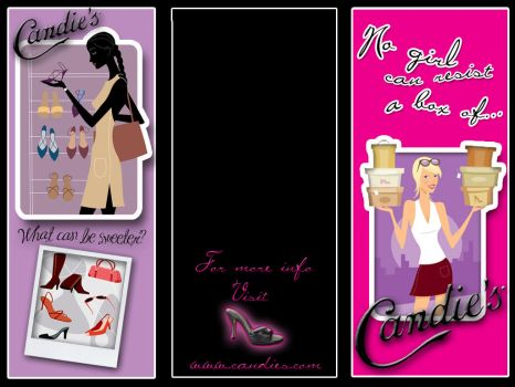 Candie's Shoes Brochure Front by mynxx