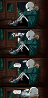 Malos dias Pt 2 - Pag 1 - By Thebombdiggity666 by AlexsDragon