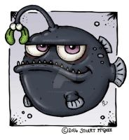 Christmas Angler-Fish by stuartmcghee