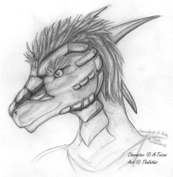 Teivos headshot sketch 02-09 by Thalathis