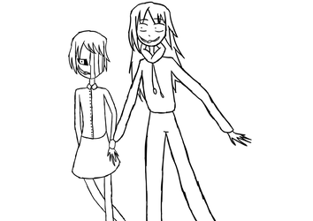 OTP Challenge Day 1 - Holding Hands by HirotheNiceOne