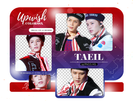 TAEIL PNG PACK #1/NCT by Upwishcolorssx