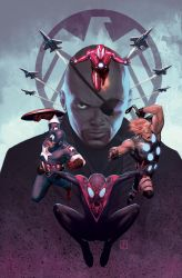 Ultimate Spiderman 16 Cover by ZurdoM