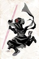Star Wars: Darth Maul #1 Cover by TerryDodson