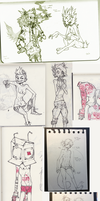 moleskine pages by HJeojeo