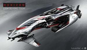 HORIZON - Race Beyond Today | Mark 4 by IllOO