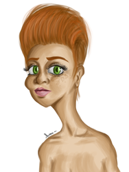Fille rousse sans nom by Shadtty