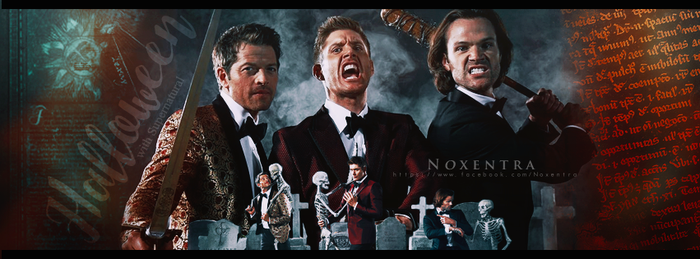 Supernatural   Halloween by N0xentra