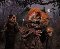 Pumpkin People by ozplasmic