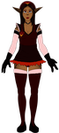 Ref Front - Cienna Aries (Maid redesign) by Lurking-Leanne