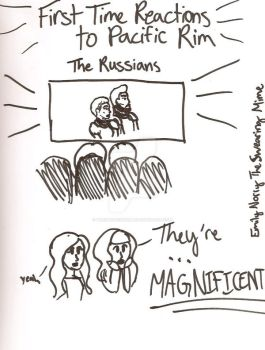 Pacific Rim Doodles: The Russians by TheSwearingMime