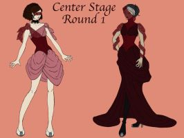 Center Stage: Round 1 by MissaDiabolikal