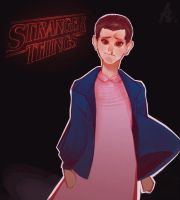 Stranger Things - Eleven by zzzKEO