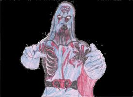 Cobra Commander Zombie 1st by JohnReynolds