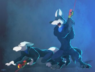 You're Gonna Start a Howl by Retehi