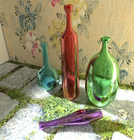 Glass Bottles by RakshiGames