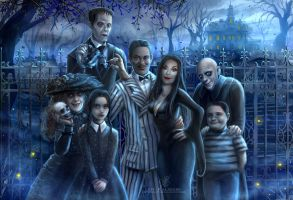 The Addams Family by kalisami