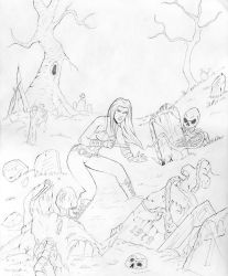 x-23 and the zombies by Mobile-Ave