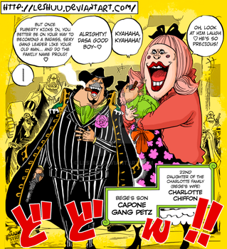 One piece 834 - Capone Bege and Charlotte Chiffon by LESHUU