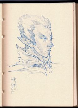 Sketch ElfDude 01 by MinohKim